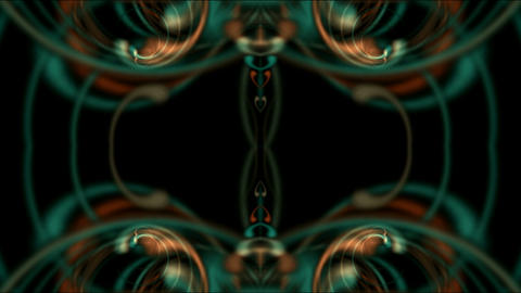spiral flower pattern,lights,optical... Stock Video Footage