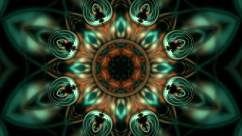 magnificent spiral flower pattern,lights,optical... Stock Video Footage
