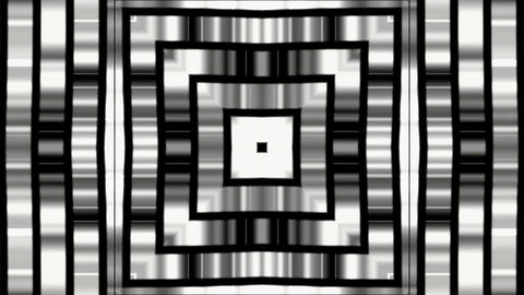 Silver square metal background,game entrance,software... Stock Video Footage