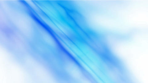abstract blue smoke,seamless loop.Silk,aurora,northern... Stock Video Footage