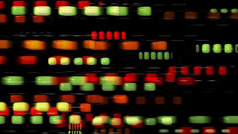 plastic square,block,disco neon block,web tech... Stock Video Footage