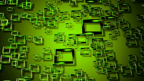 green kite glass Animation