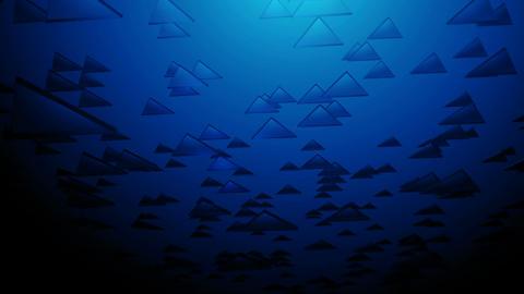 deep blue triangle Animation