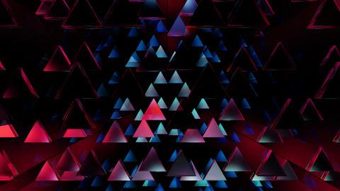 array triangle glow Animation