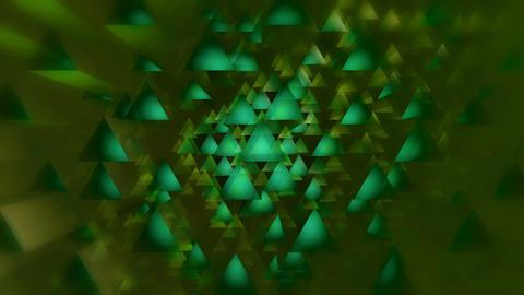 green triagonal overlay Animation