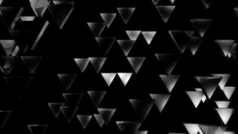 white triagonal lights Animation