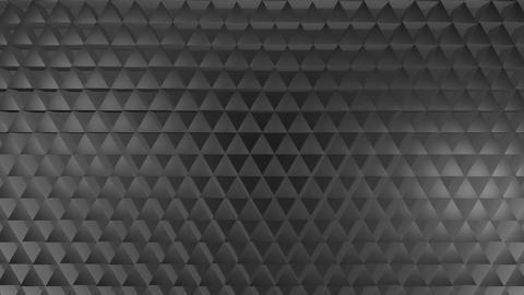 white metal triagonal Animation