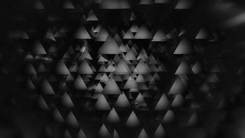 disco triagonal white Animation