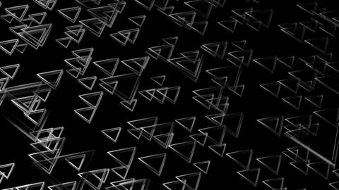 dancing triagonal white Animation
