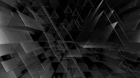 triagonal tube white Animation