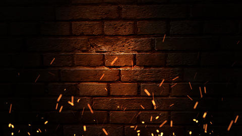 Wall Of The Flame stock footage