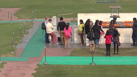 Raj Ghat/ Raj Ghat, a memorial to Mahatma Gandhi Footage