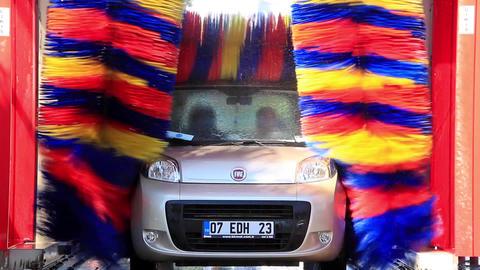 Automatic car wash Live Action