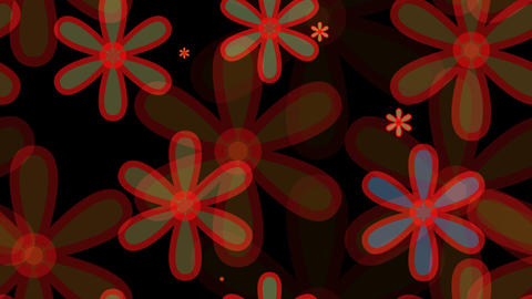 tileable overlay flower shape with alpha Animation