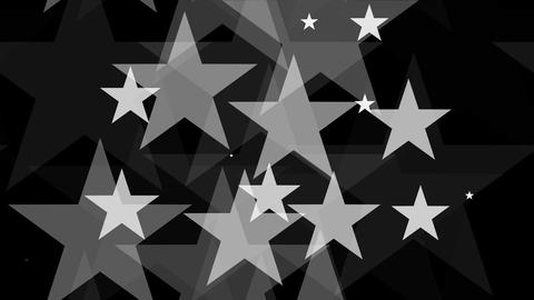 Tileable White Star Background With Alpha stock footage