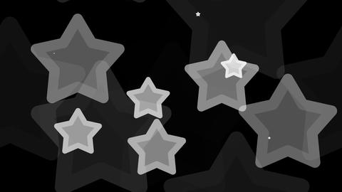 Tileable White Star Pattern With Alpha stock footage