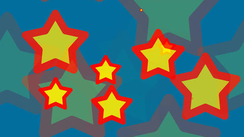tileable kid star pattern Animation