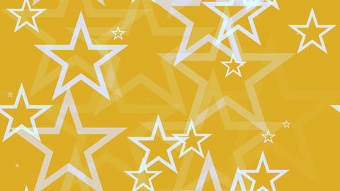 tileable yellow white stars Animation