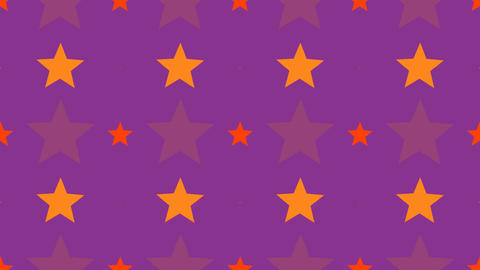 tileable fun star pattern Animation