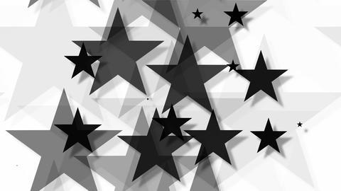 tileable black star background Animation