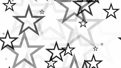 tileable black white stars Animation