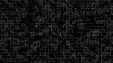 Tunnnel Loop Grid A Animation