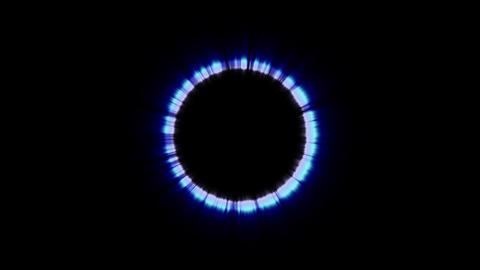 Tunnnel Loop Light Ring Animation