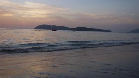 Sand beach 6 Footage