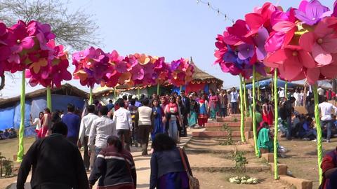Surajkund Fair/Village Fair2 stock footage