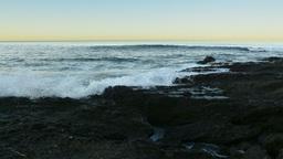 Ocean Reef Sunrise Time Lapse stock footage