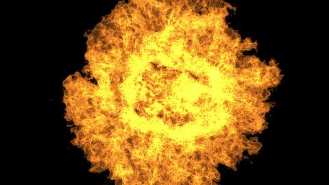 Fireball Rising II stock footage