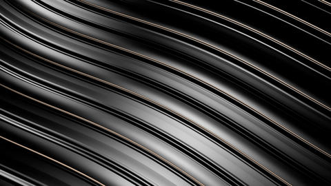 Black Wavy Surface 1 stock footage