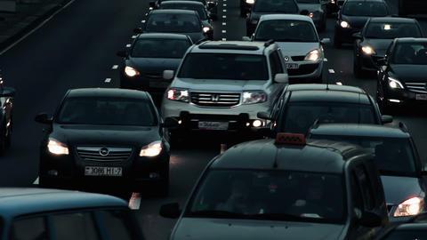 Street Traffic Footage