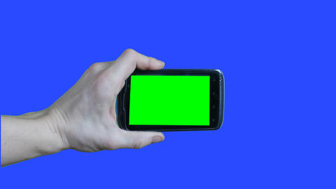 green screen touch video Footage