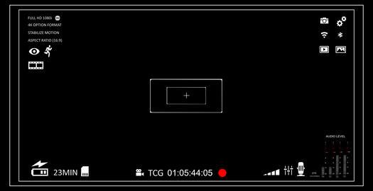 Camera viewfinder Animation