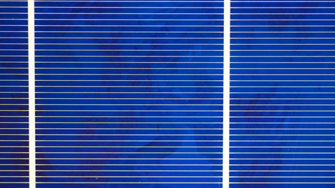 Solar Cell 2 stock footage