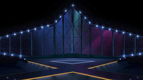Entertainment TV Studio Set 18-Virtual Background Loop Footage