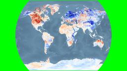 NASA NEO - LSTA. Bathymetry. Times Animation