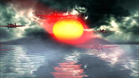 Pearl Harbor World War 2 Sunshine Stock Video Footage