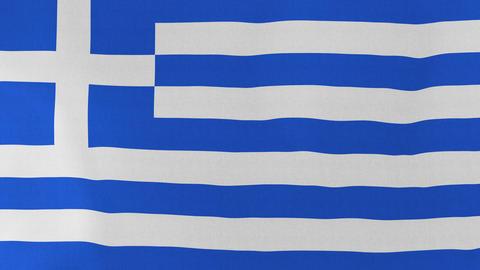Loopable: Flag of Greece Footage