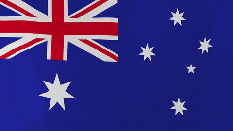 4K Loopable: Flag of Heard Island and McDonald Islands Footage