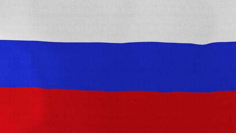Loopable: Flag Of Russia stock footage