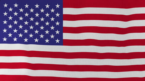 4K Loopable: Flag of United States Footage