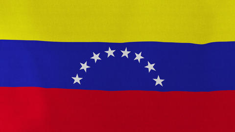 4K Loopable: Flag of Venezuela Footage