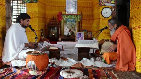 Brahmin ritual Footage