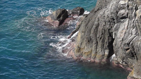Coastal Riomaggiore (1 Of 5) stock footage