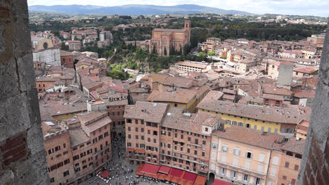 Views Of Siena Italy (8 Of 8) stock footage