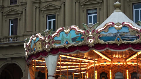 Carousel in Florence (3 of 5) Footage