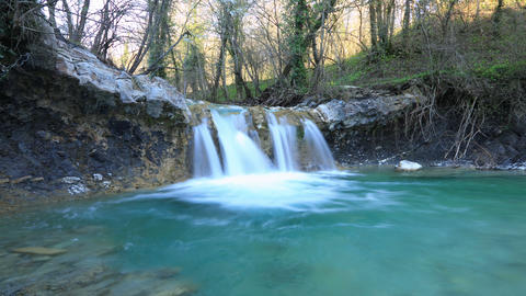Waterfall timelapse Footage