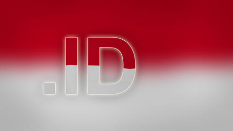 ID - Internet Domain of Indonesia Footage